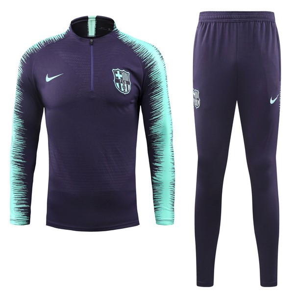 Chandal Barcelona 2018-2019 Verde Purpura