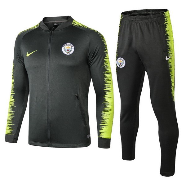 Chandal Manchester City 2018-2019 Verde Amarillo