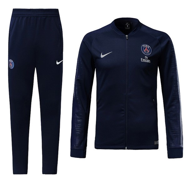Chandal Niños Paris Saint Germain 2018-2019 Azul Marino