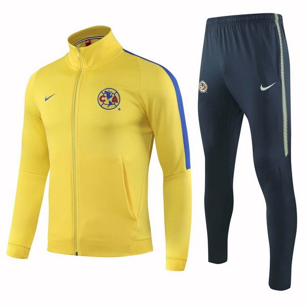 Chandal Club América 2018-2019 Amarillo Azul