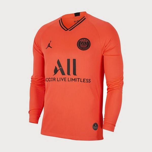 Camiseta Paris Saint Germain Segunda equipación ML 2019-2020 Naranja