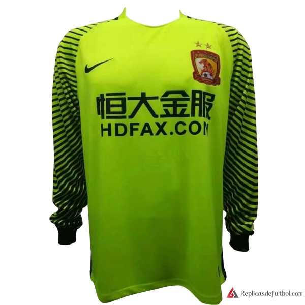 Camiseta Evergrande ML Portero 2017-2018