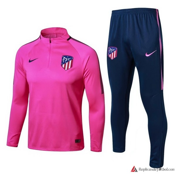 Chandal Atletico Madrid Niño 2017-2018 Purpura