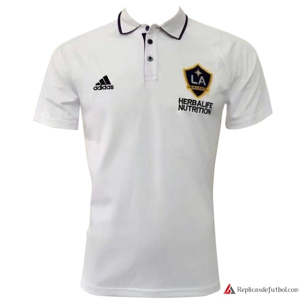 Polo Los Angeles Galaxy 2017-2018 Blanco
